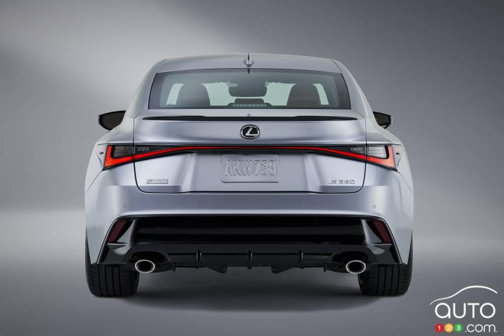 Lexus IS F-Sport 2021, arrière