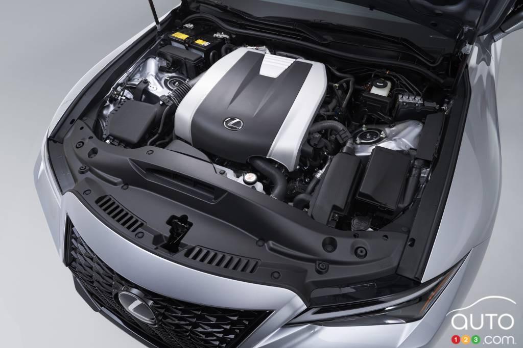 Lexus IS F-Sport 2021, moteur