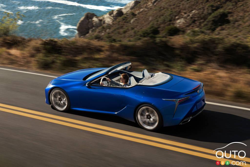 Lexus LC cabriolet 2021