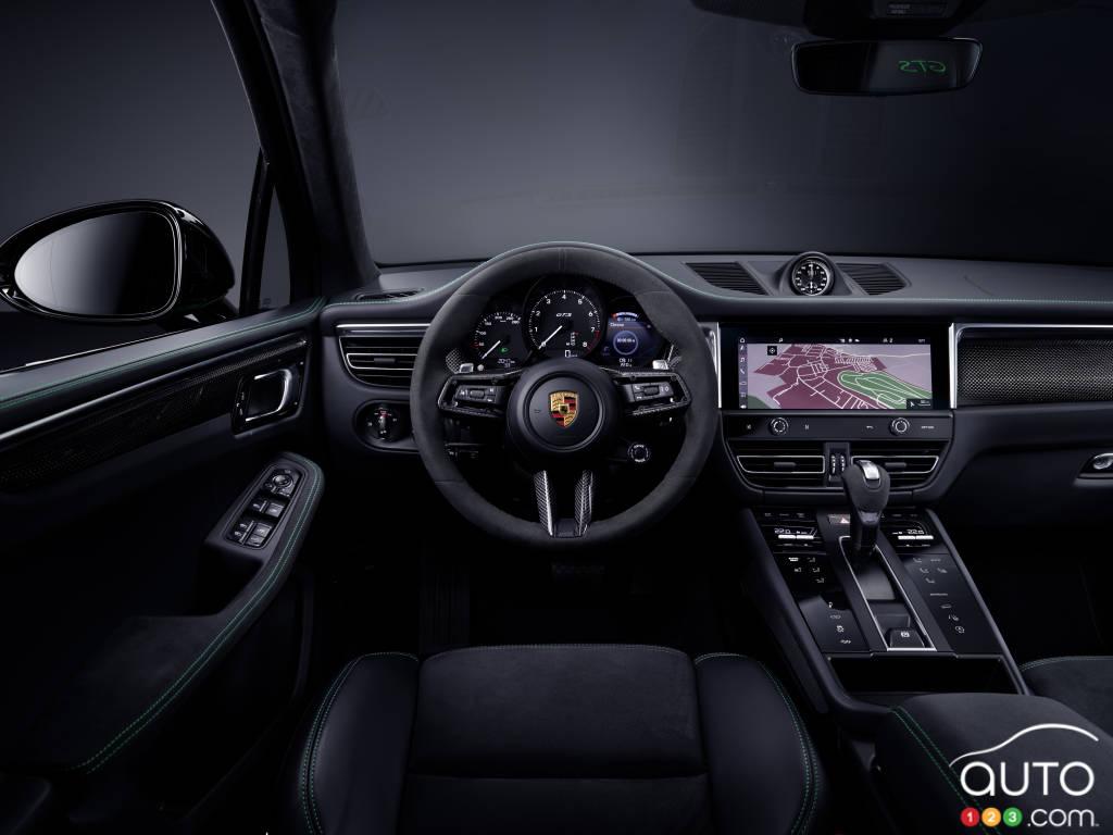Porsche Macan 2022, intérieur