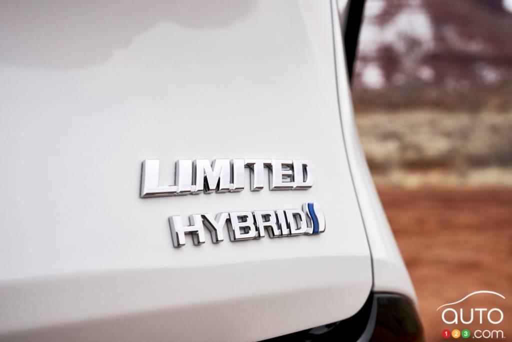 Toyota Sienna Limited 2021, hybride