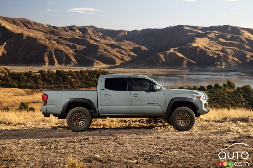 Toyota Tacoma Trail 2022, profil