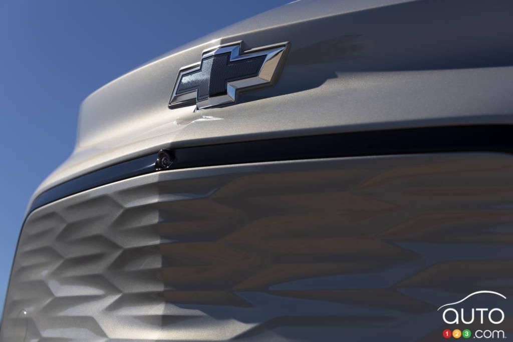 Chevrolet Bolt EUV 2022, calandre