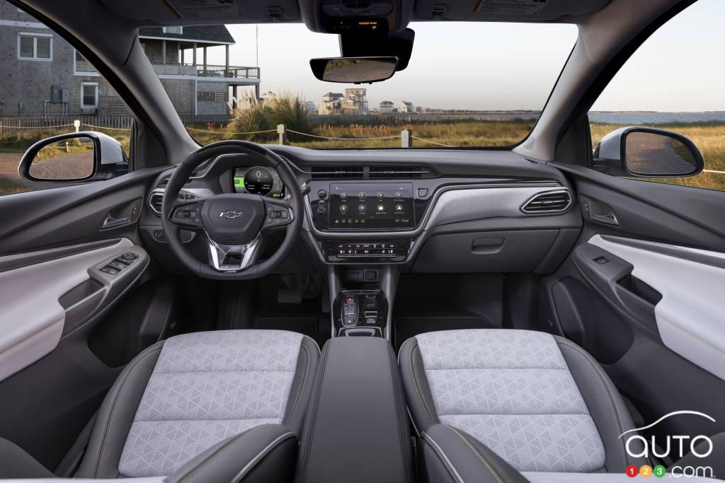 Chevrolet Bolt EUV, intérieur