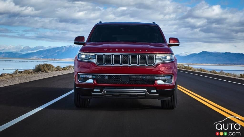 Jeep Wagoneer 2022, avant