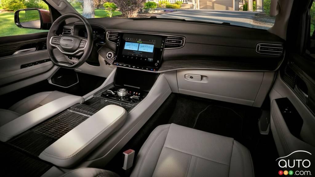 Jeep Wagoneer 2022, intérieur