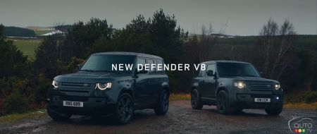 The 2022 Land Rover Defender 110 and 90
