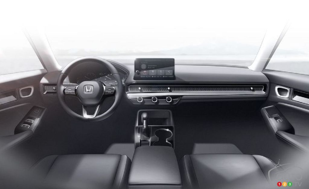 Honda Civic 2022, intérieur