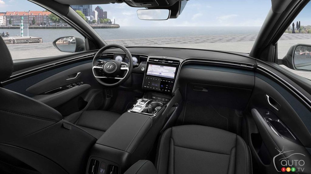 Hyundai Tucson 2022, intérieur