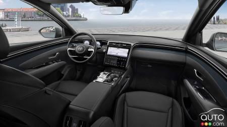 2022 Hyundai Tucson, interior