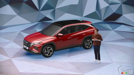 Presentation of the 2022 Hyundai Tucson