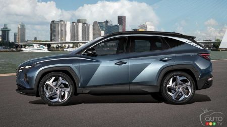 Hyundai Tucson 2022, profil