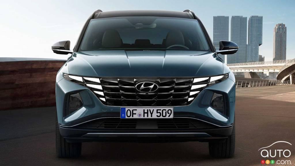 Hyundai Tucson 2022, avant