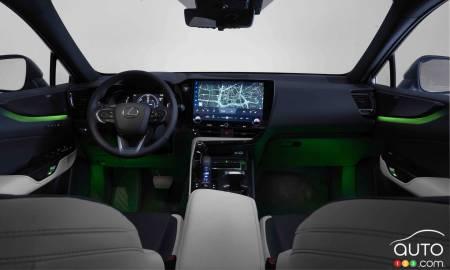 2022 Lexus NX 350h, interior