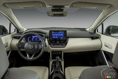 2022 Toyota Corolla Cross, interior