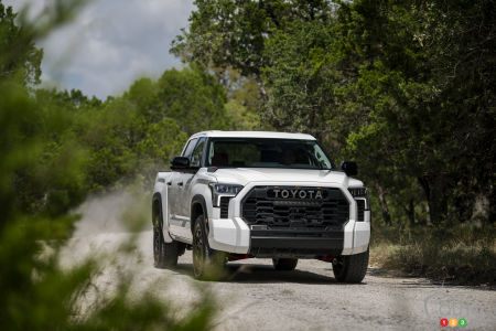 2022 Toyota Tundra First Check    Highway assessments