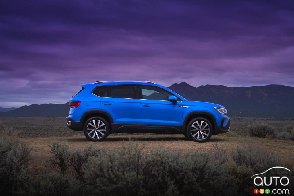 Volkswagen Taos 2022, profil