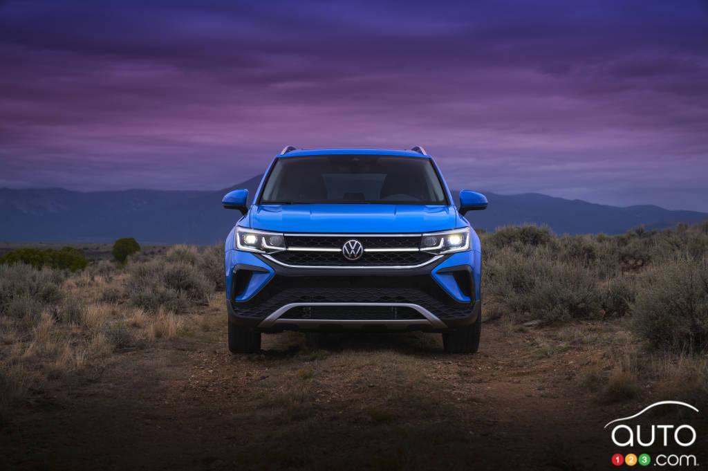 Volkswagen Taos 2022, avant