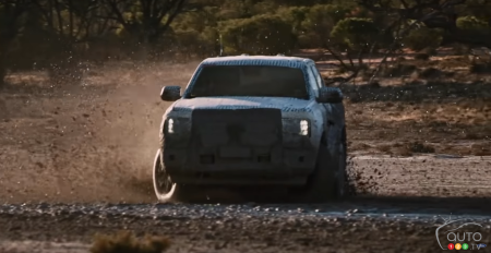 2023 Ford Ranger, front