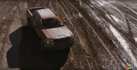 2023 Ford Ranger, from above