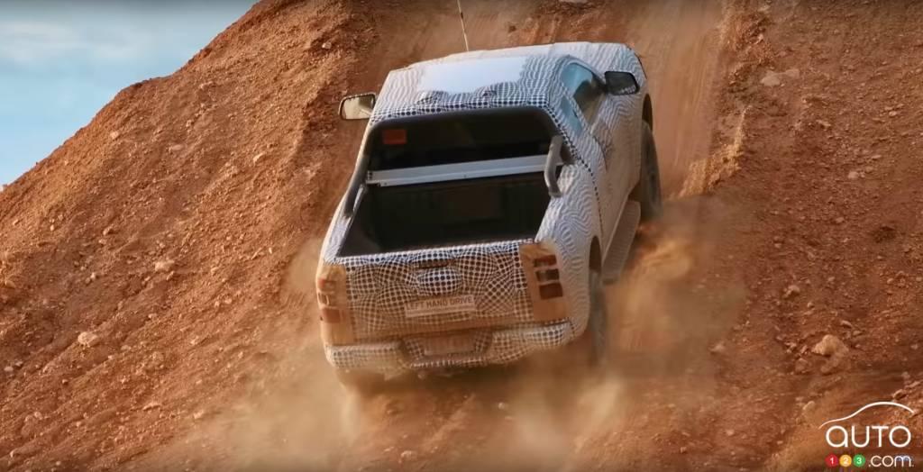 Ford Ranger 2023, caisse
