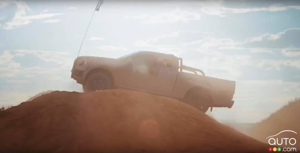 Ford Ranger 2023, au sommet