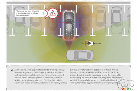 Automatic parking and braking system