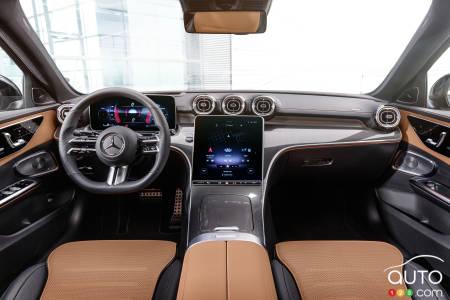 Mercedes-Benz Clase C 2022, interior