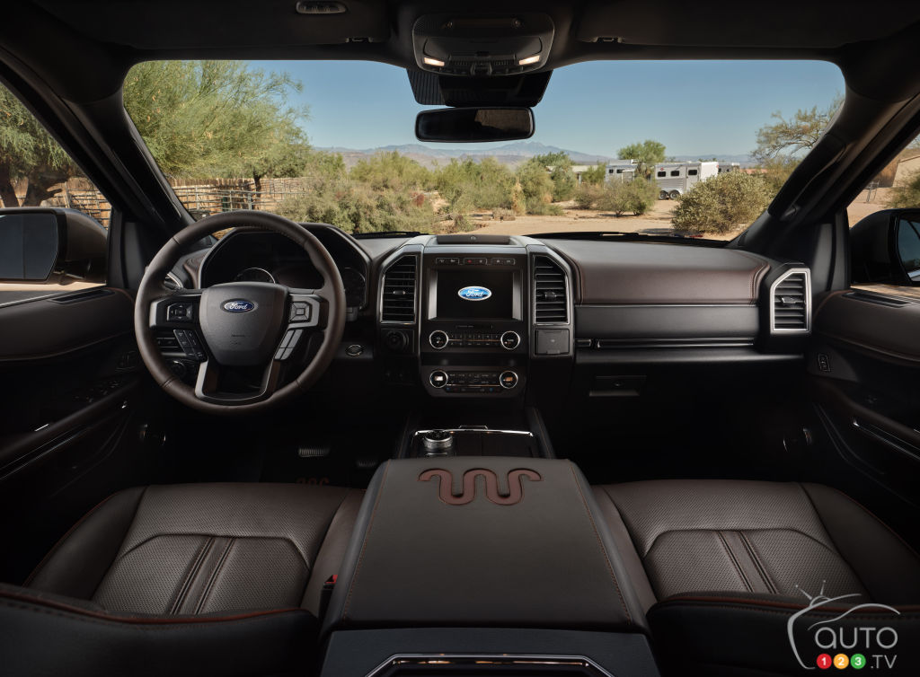 Ford Expedition 2021, intérieur