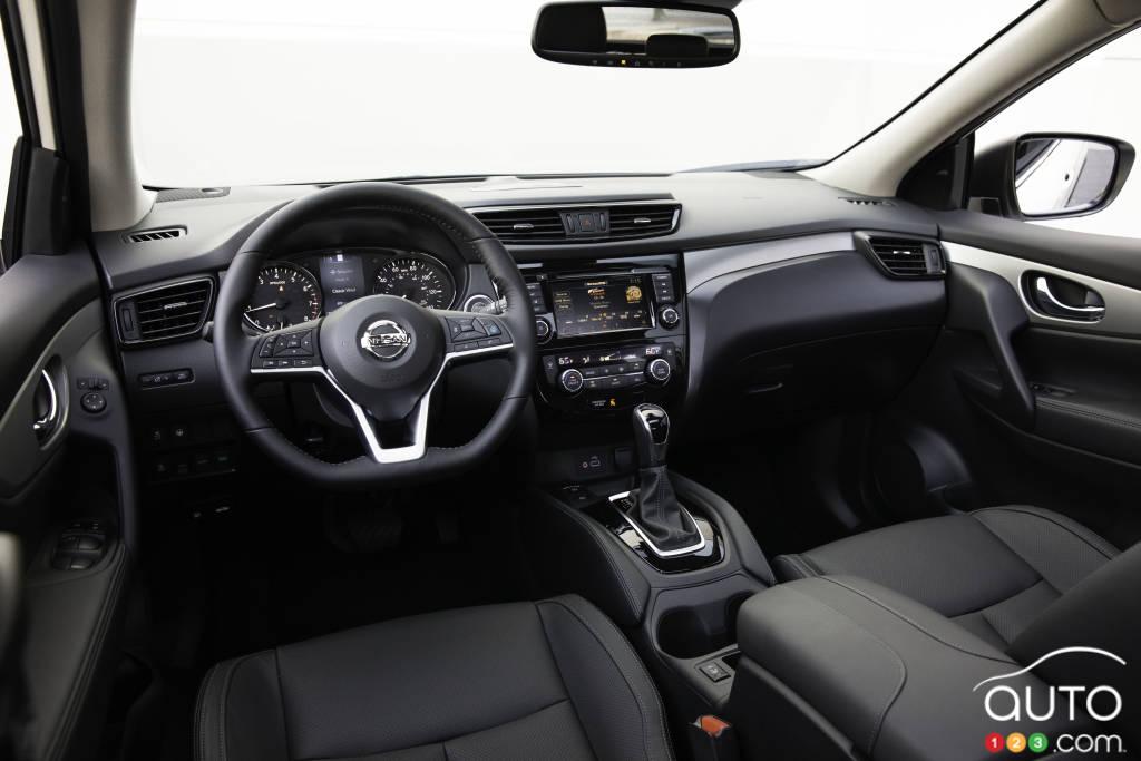 Nissan Qashqai 2020, intérieur