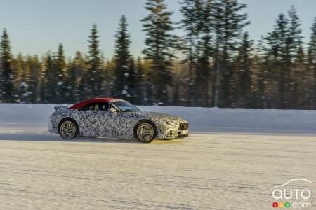 Mercedes-AMG Classe SL 2022, Profilo