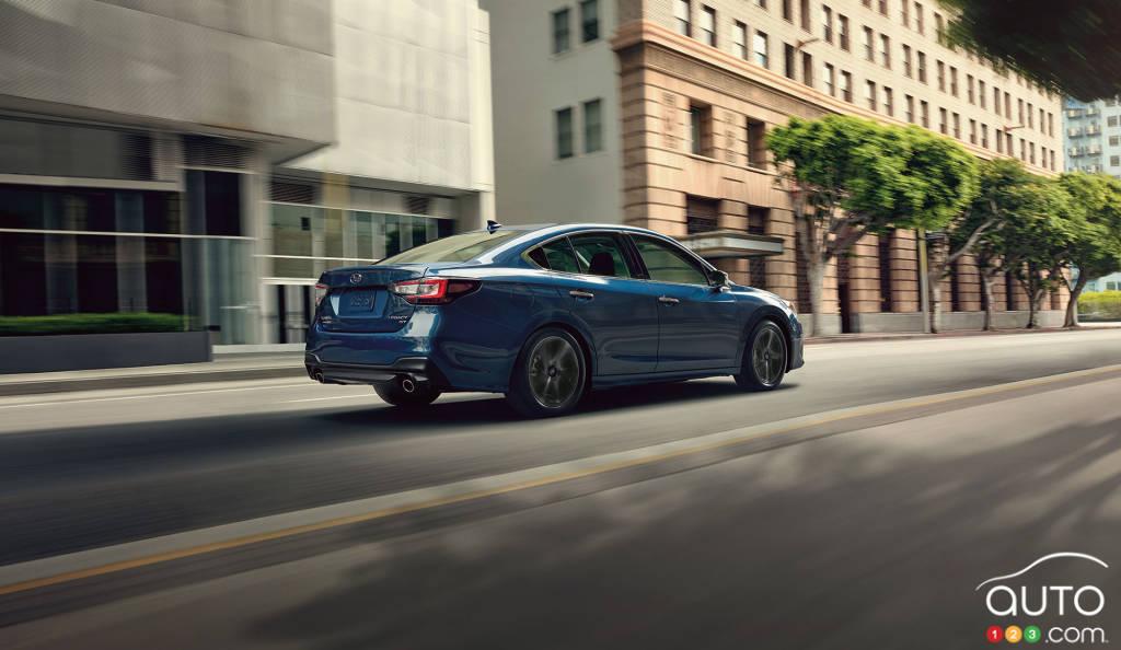 Subaru Legacy, trois quarts arrière