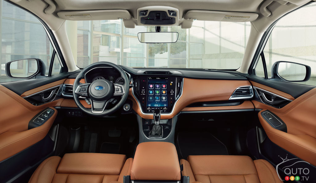 Subaru Legacy, intérieur