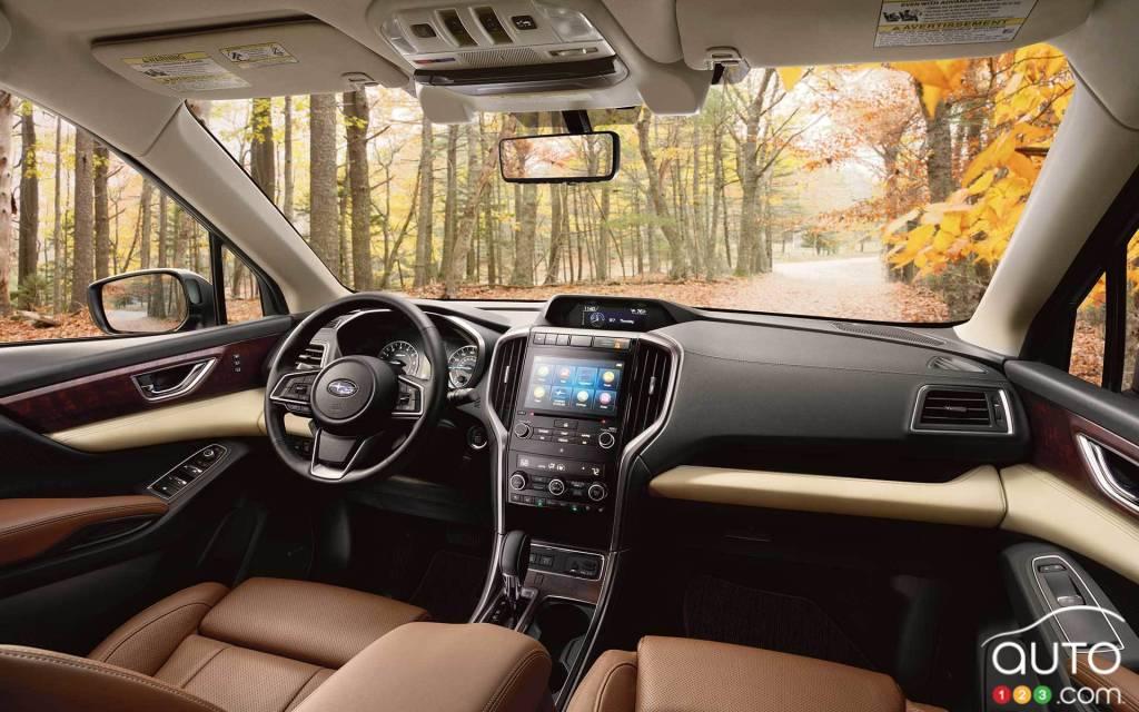 Subaru Ascent 2021, intérieur