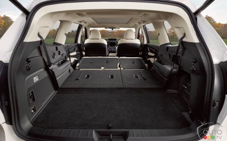 2021 Subaru Ascent, rear cargo space
