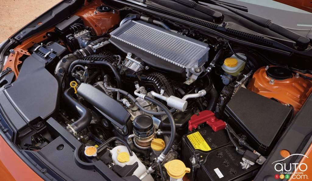 Subaru WRX 2022, moteur
