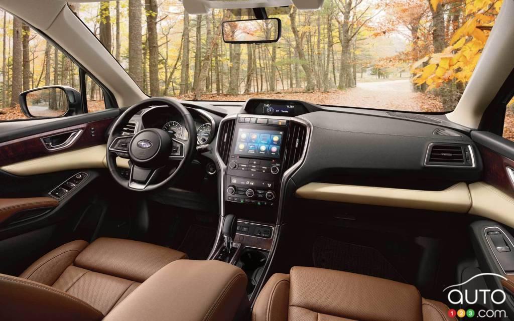 Subaru Ascent 2022, intérieur