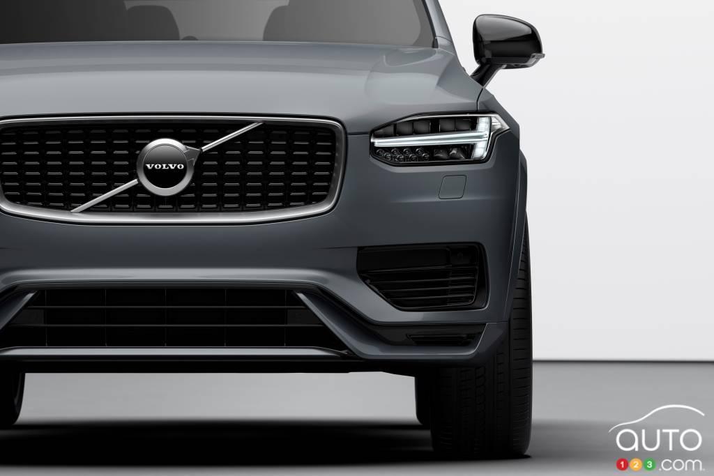 Volvo XC90 2020, devant