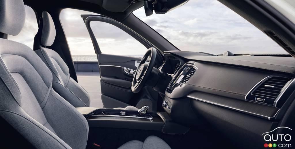 Volvo XC90, intérieur