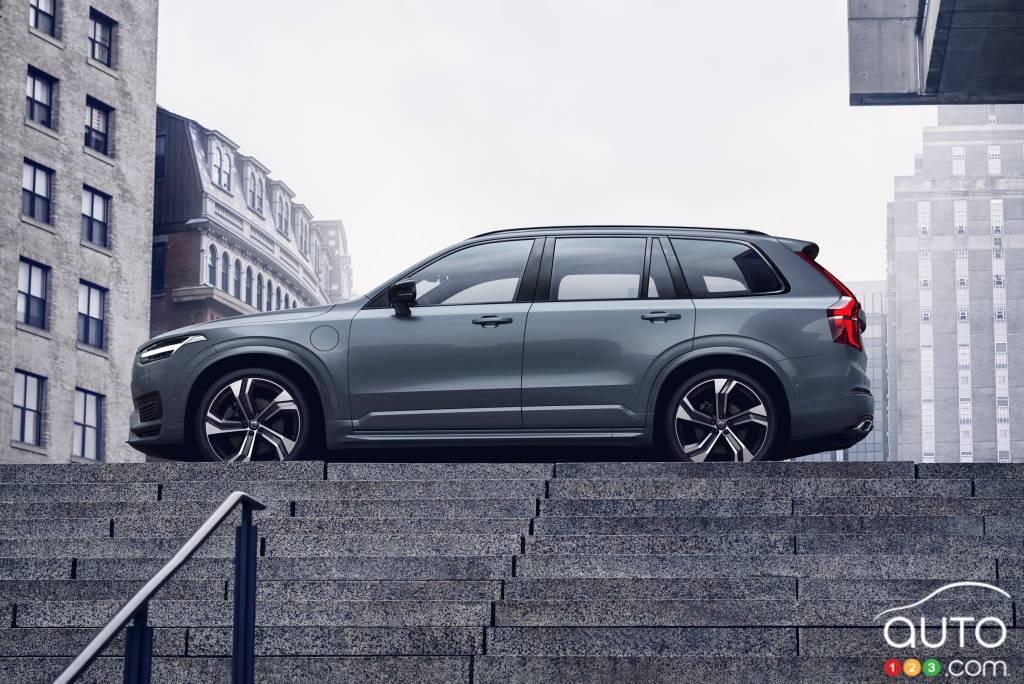 Volvo XC90 2020, en haut de marche