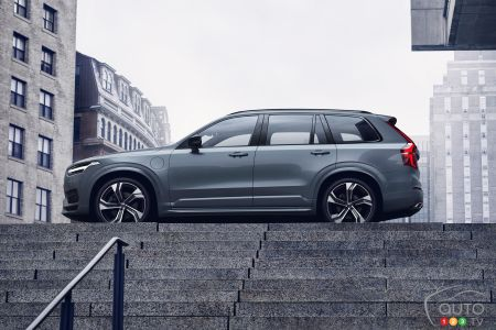 2020 Volvo XC90, at the top