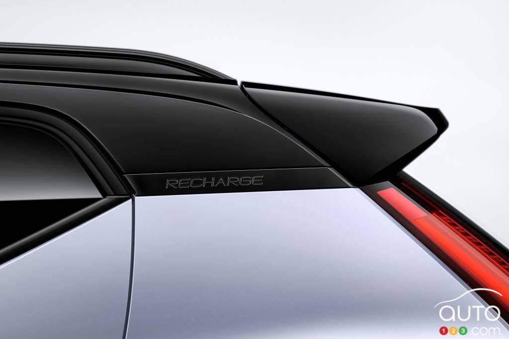 Volvo XC40 Recharge, toit