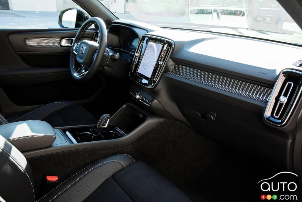 Volvo XC40 Recharge 2021, intérieur