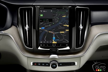 2022 Volvo XC60, new infotainment system