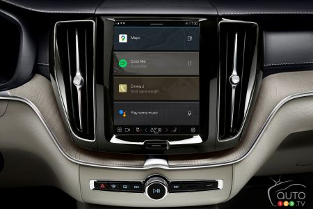 2022 Volvo XC60, new infotainment system, fig. 2