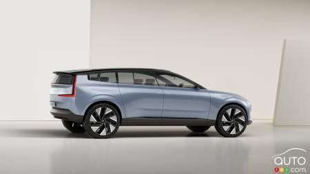 Volvo Concept Recharge, profile