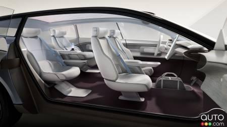 Volvo Concept Recharge, interior