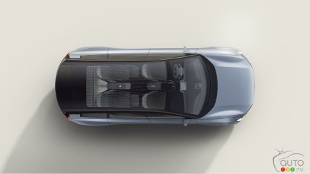 Volvo Concept Recharge, from above