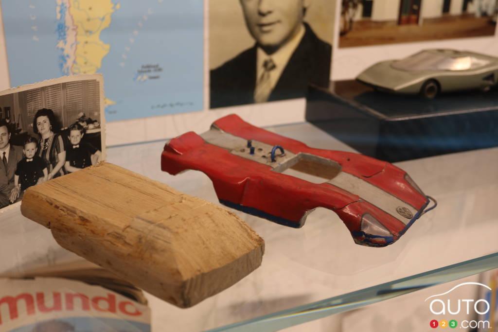 Lorsqu'il était jeune, Horacio Pagani fabriquait des modèles réduits.