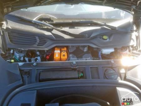 Porsche Taycan, motor